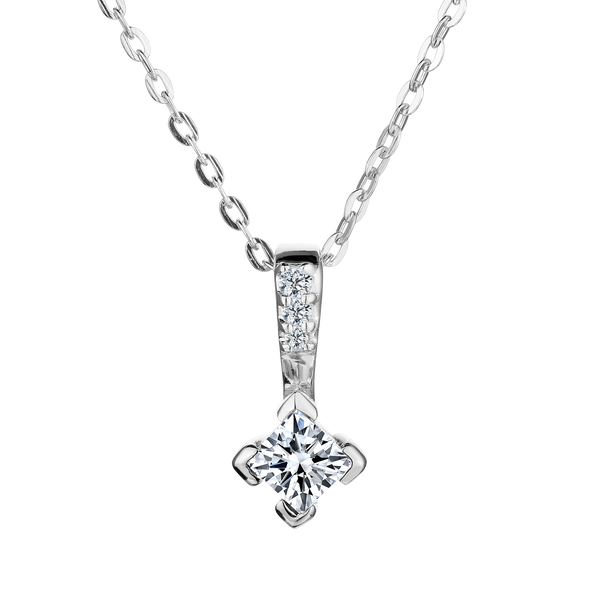 .20 CARAT DIAMOND CANADIAN PRINCESS PENDANT, 10kt WHITE GOLD, WITH 10kt WHITE GOLD CHAIN........NOW
