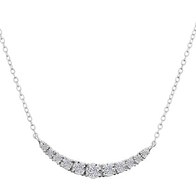 .33 CARAT DIAMOND NECKLACE, 10kt WHITE GOLD…...................NOW