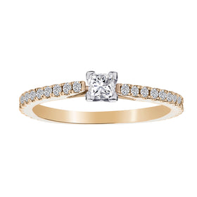 .50 CARAT CANADIAN DIAMOND ENGAGEMENT RING, 14kt YELLOW GOLD...................NOW