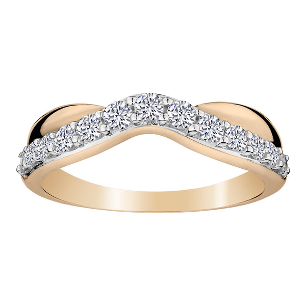 .50 CARAT DIAMOND RING, 14kt YELLOW GOLD….............................NOW