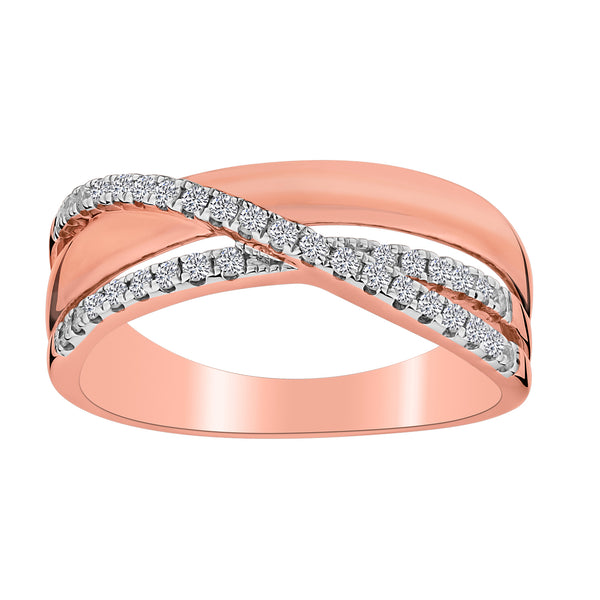 .30 CARAT DIAMOND RING, 10kt ROSE GOLD…......................NOW