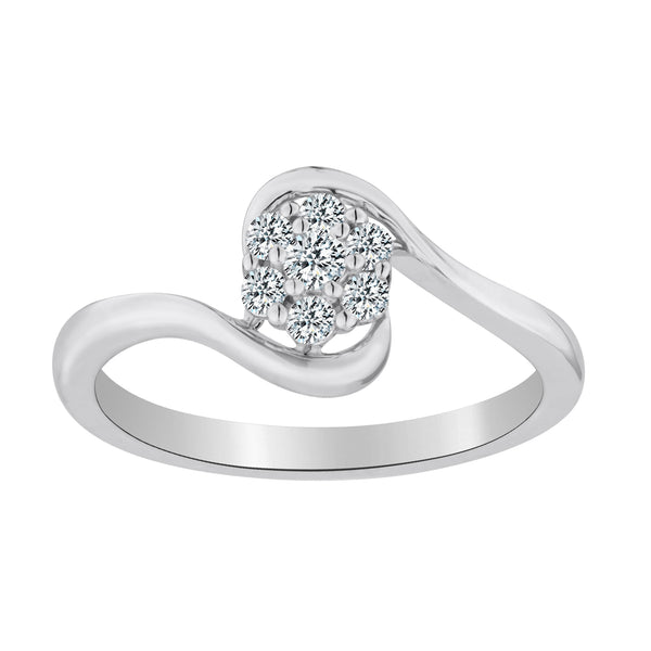 .20 CARAT DIAMOND RING, 10kt WHITE GOLD…...................NOW
