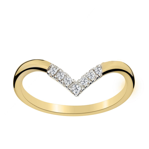 .16 CARAT DIAMOND RING, 10kt YELLOW GOLD….............................NOW