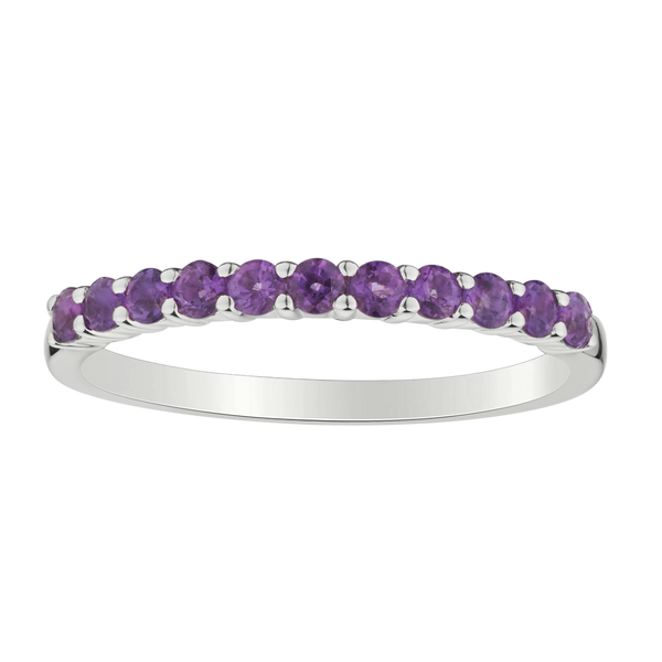 AMETHYST RING, SILVER.....................NOW
