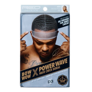Wave Check See-Through Durag