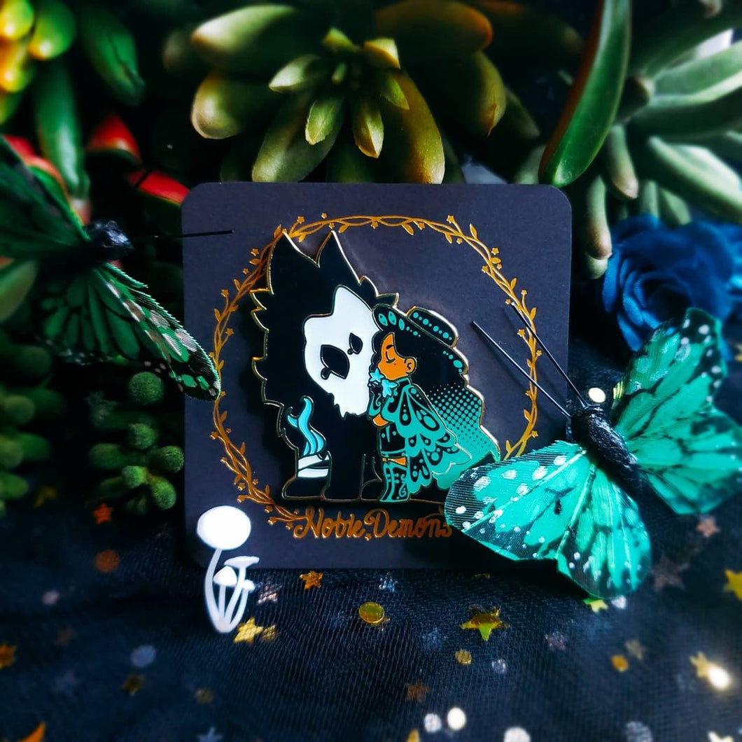 Wolfsbane Witch Pin