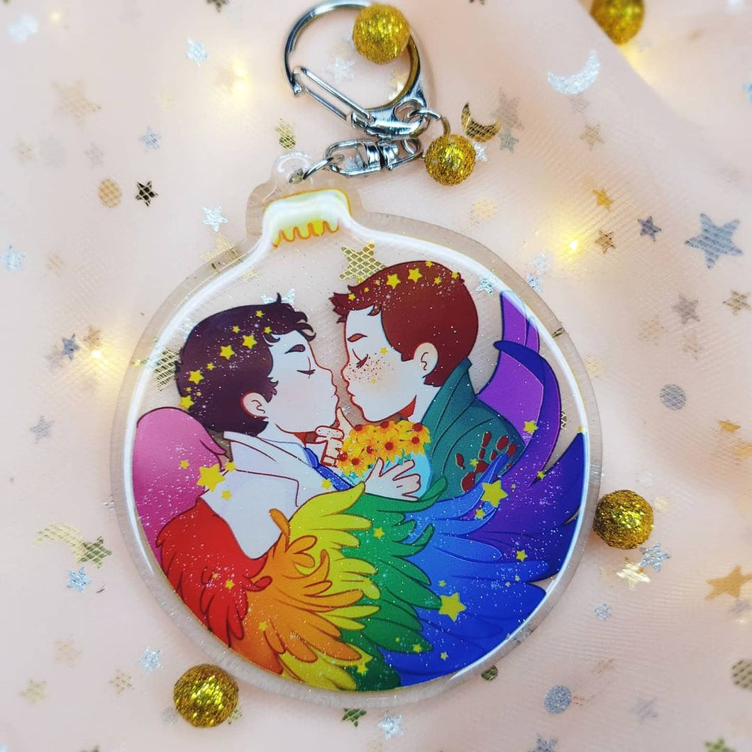 Destiel Ornament Charm