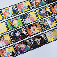 Load image into Gallery viewer, Romance Horror Movie Film Roll Washi Tape.