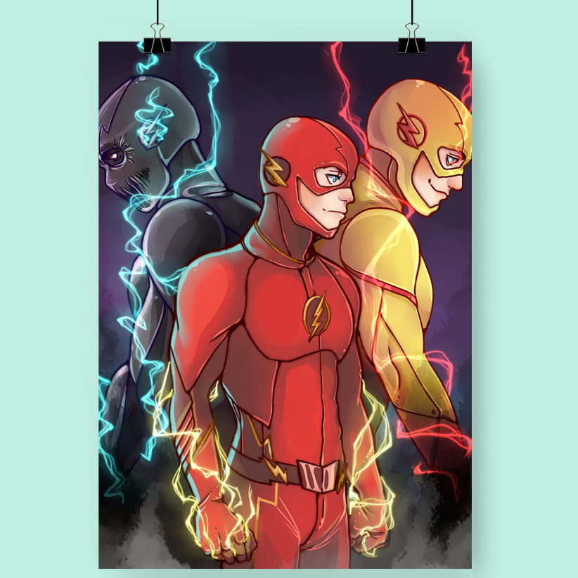11x17 The Flash Print
