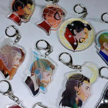 Load image into Gallery viewer, Superhero 3D Charms