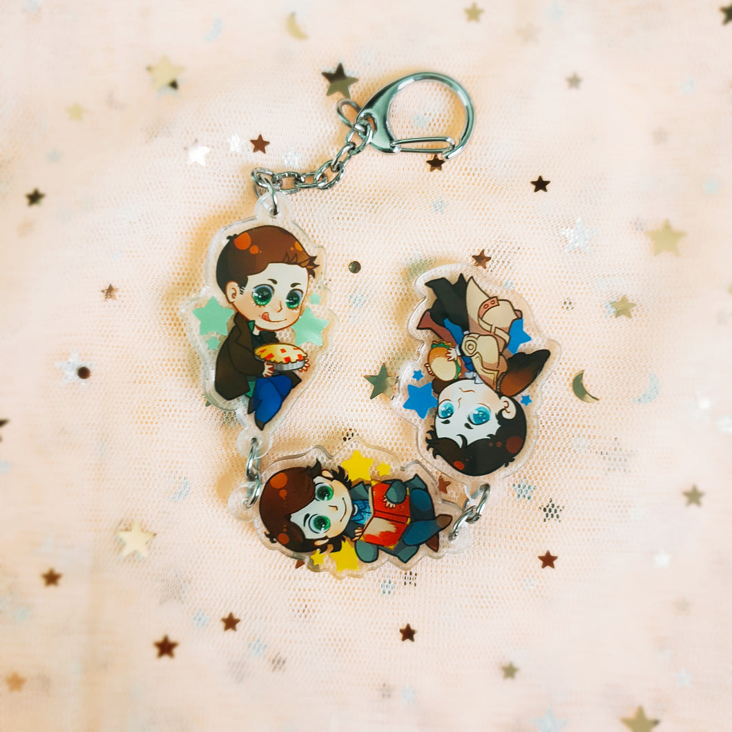 Team Free Will joined charm