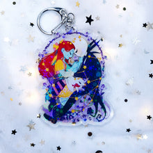 Load image into Gallery viewer, Jack & Sally Charm (Nightmare)
