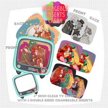 Load image into Gallery viewer, Wanda/Vision Changeable Insert Charm [PREORDER]