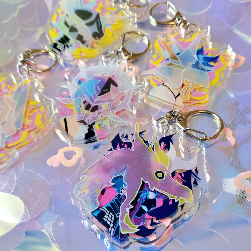 Promare 3D Charms