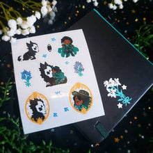 Load image into Gallery viewer, Wolfsbane Witch Square Sketchbook