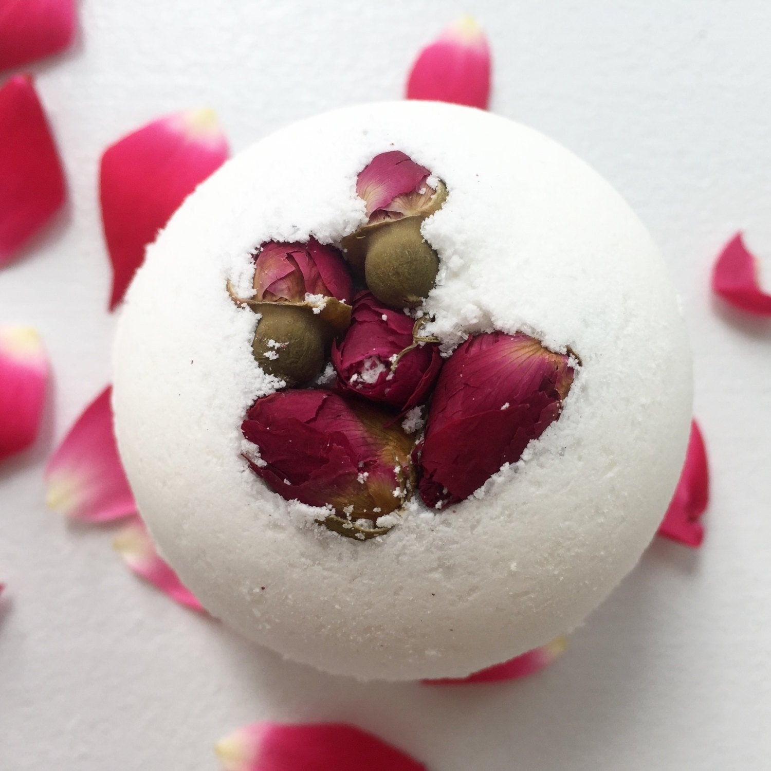 Product Demonstration:  Rose Flower Bath Bomb