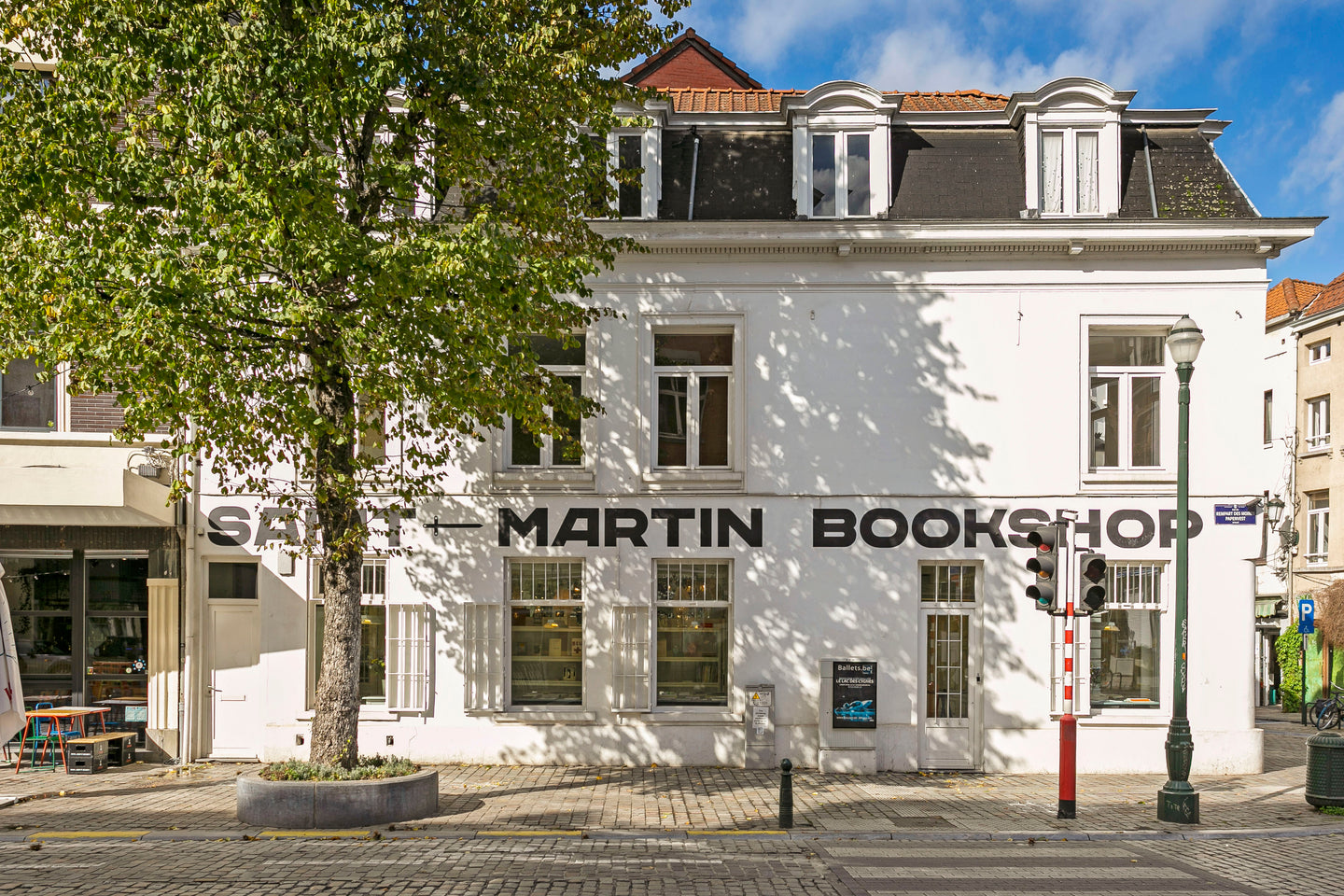 saint-martin bookshop brussels