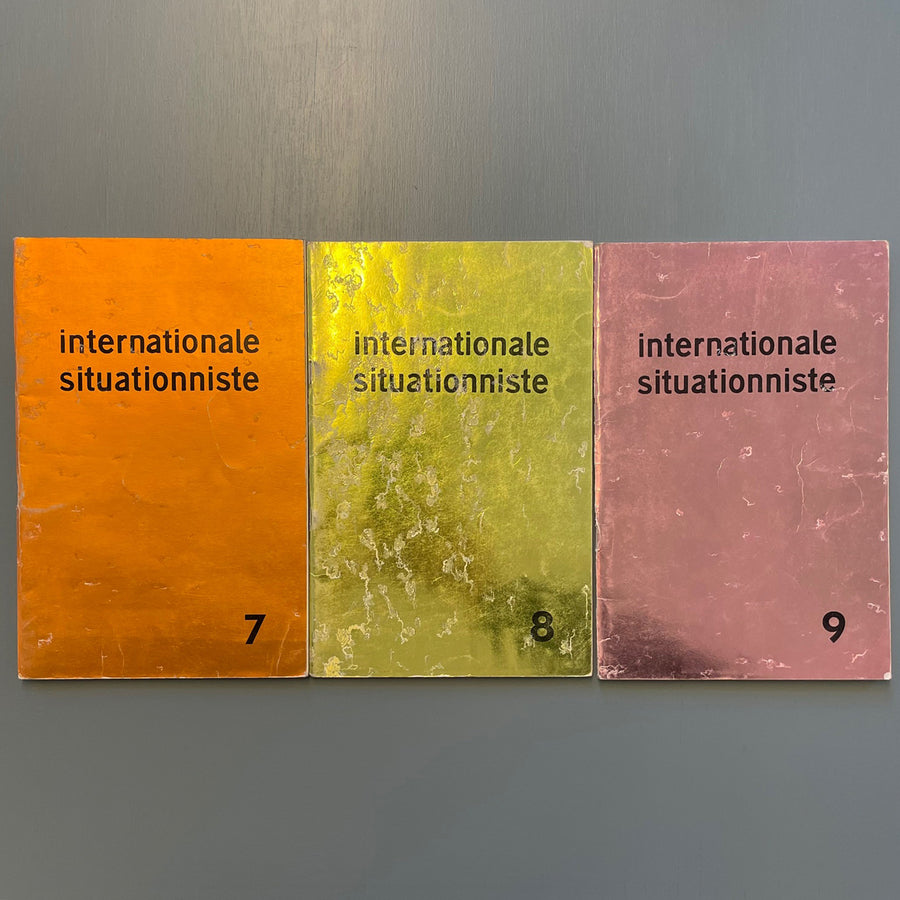 Debord Guy - Internationale situationniste 1-12 (complete collection) - InSi 1958-1969