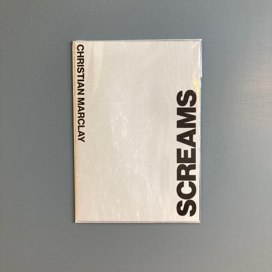 Marclay Christian - Screams - White Cube Edition 2017