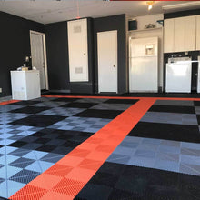 Load image into Gallery viewer, Swisstrax Tropical Orange Ribtrax Pro Garage Flooring Tiles (24 Tile Pack) (504.000.801C-24pk)