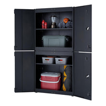 Load image into Gallery viewer, TRINITY 6-Piece Garage Cabinet Set (Black)
