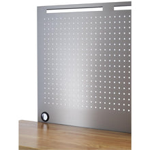 Load image into Gallery viewer, TRINITY 72x19 Stainless Steel Rolling Workbench W/ Pegboard