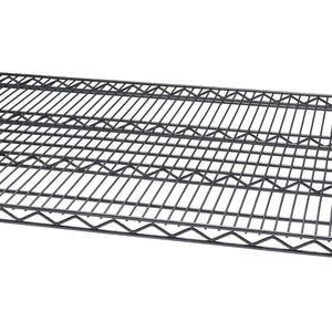 TRINITY PRO 4-Tier 72x30x72 Wire Shelving Black Anthracite®