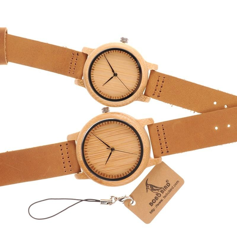 Lovers' Watches | Handmade Quartz - Pieces of Wood