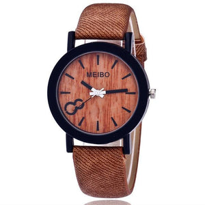 MEIBO Wooden Quartz Watch for Men/Women - Pieces of Wood