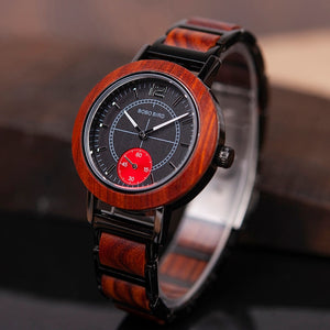 Incredible Wooden Lovers' Watches