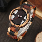 Load image into Gallery viewer, Antique Style Men's Wood Watches with Vintage Ebony Wood