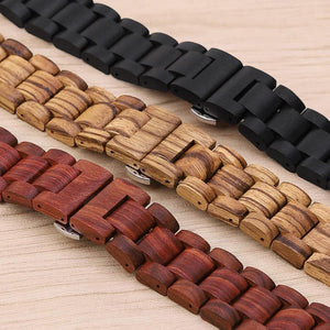 Wooden Bracelet for Apple Watch - Pieces of Wood