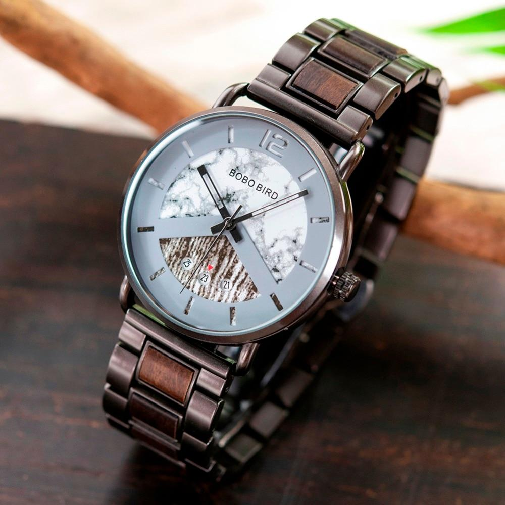 Unique Wooden Watches in Wood Box, 3 Styles - Pieces of Wood