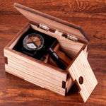 Load image into Gallery viewer, Unique Wooden Watches in Wood Box, 3 Styles - Pieces of Wood