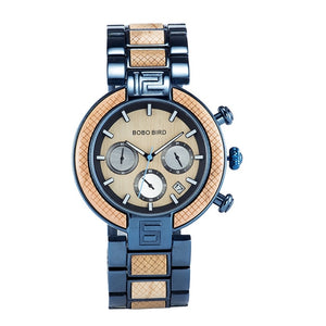 Handmade Wooden Watch for Men with Japan Movement Quartz