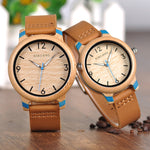 Load image into Gallery viewer, Handmade Lovers' Bamboo Watches