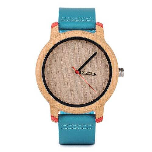 Bamboo Watch for Women, Dublin Colour - With Wooden Gift Box - Pieces of Wood