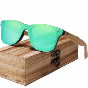 KINGSEVEN Bamboo Polarized Sunglasses For Men or Women - Pieces of Wood