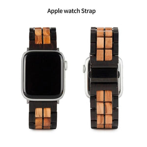 Replacement Wood Watch Strap for Apple Watches - Pieces of Wood