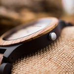 Load image into Gallery viewer, Zebra Wood Quartz Watches for Women, Couples or Men