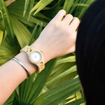 Load image into Gallery viewer, Ladies Luxury Bamboo Watch