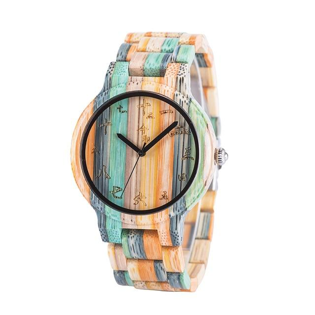 Wooden Watch for Men/Women/Couples in Gift Box - Pieces of Wood