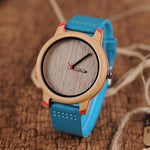 Load image into Gallery viewer, Bamboo Watch for Women, Dublin Colour - With Wooden Gift Box - Pieces of Wood