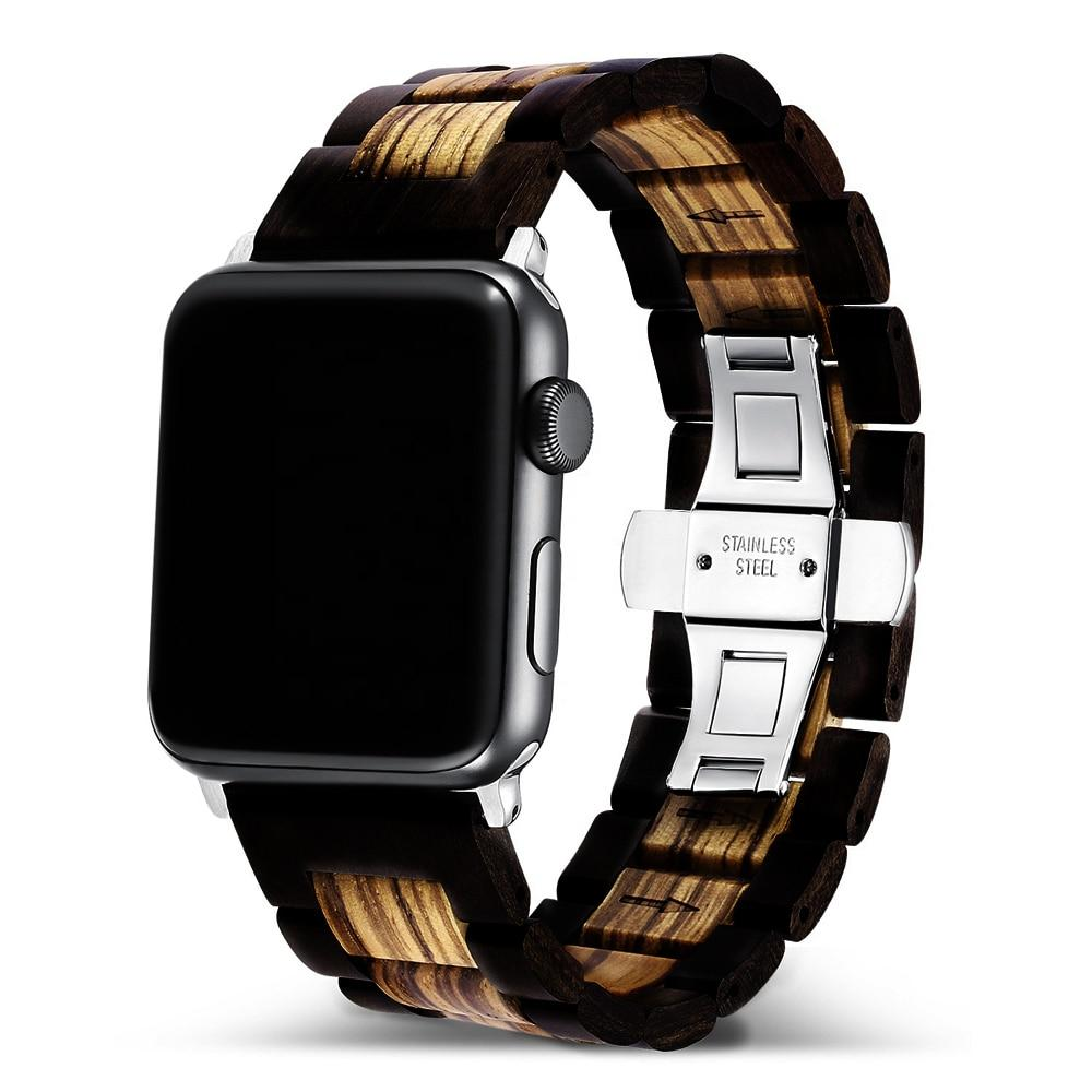 Premium Wooden Strap For Apple Watches - Pieces of Wood