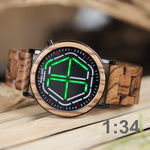 Load image into Gallery viewer, Wooden Digital Watch for Men or Women with LED Time Display in Wooden Gift Box