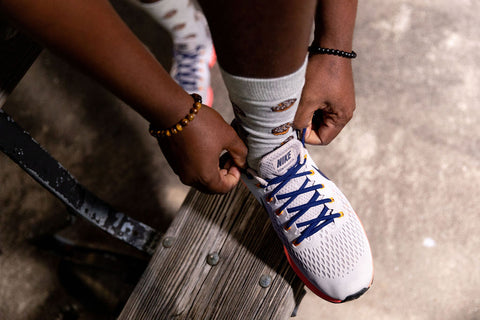 lace up with hand injury