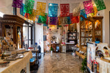 Guadalupe Papel Picado Banner, Mylar