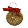 St. Anthony Pray for Us (round) Christmas Ornament