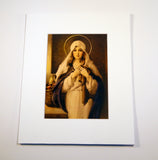 Madonna of the Sacred Coat - Chambers Print 5X7