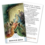 Novena to St. Andrew/Prayer to Obtain Favors Holy Cards